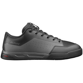 Mavic Deemax Elite Flat Mid Shoes Unisex Black/Magnet/Black